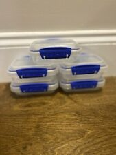 New listing Sistema To Go Lunch/Salad Small Food Container w/ Easy-Locking Clips Lot of 5