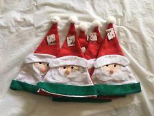 5 pcs christmas cute santa hats christmas party/ costume decoration