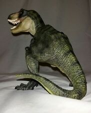 2005 Papo Green Tyrannosaurus Rex T-rex Statue – Jurassic Park Dinosaur