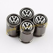 Car Wheel Tire Tyre Valve Stem Titanium Alloy Sport Air Cap FOR VW Volkswagen