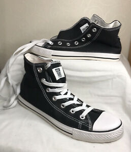 Converse All Star Black Canvas High Top Unisex Trainers Size 7/40 Unworn