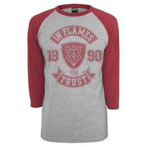 IN FLAMES - We Trust College 3/4 Arm Longsleeve Langarmshirt