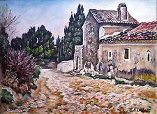 Alfred Lesbros, Avignon, Groupe des Treize, Huile sur toile (v)
