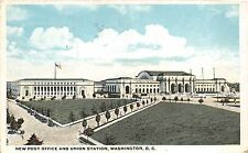 BR40309 New post office and union station washington DC  Washington DC