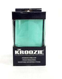 KROOZIE 2.0 BICYCLE DRINK CUP HOLDER 2.0 SEA FOAM GREEN