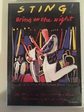 Sting - Bring on the Night (DVD) 2005 Region Free!
