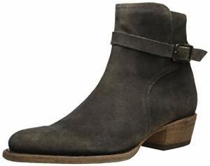 FRYE Men's Grady Jodphur Western Boot, faded black, 7.5 M Medium US