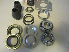 Two Ford Dana 60 King Pin Rebuild Kit Bearing,Bushing,Spring,Seal,King Pin