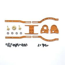 Aluminum Adjustable Chassis Set with Alloy Reverse Transmission Gearbox for 1...