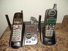 Panasonic KX-TG5632M 5.8 GHz Dual Handsets Single Line Cordless Phone