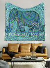 Elephant Tapestry Ethnic Bedspread Authentic Wall Hanging Cotton Beach Throw