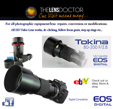 TOKINA AT-X 80-200 F2.8 CANON EF LENS DOC CONVERSION MOUNTS ALL CANON DSLR'S