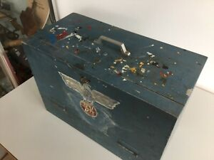 Sign writers vintage Tool Box & Contents