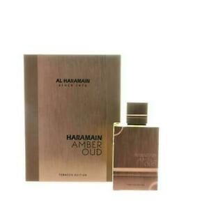 Amber Oud  Tobacco Edition 2 .0 Oz Eau De Parfum Spray by Al Haramain Box Men