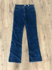 """Marks And Spencer Jeans Per Una Dark Blue Size 10 Leg 34"""" Tall EA98"""