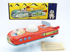 Future Space Car Tin Toy Urauto Holdauto Rocket Batt. Op. NMB box LEMEZARUGYAR