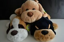 "Spark 16"" Lying Dog Plush PICK ONE: Golden Retriever, Rottweiler & Beagle"