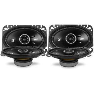 """4) KICKER DS Series 43DSC4604 240W 4x6"""" 2-Way Coaxial Car Stereo Speakers"""