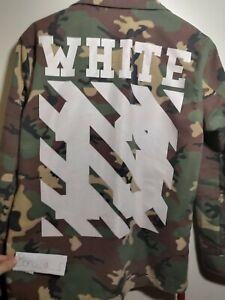 Off-White Camo Badges Field Jacket Original SS14 (S)