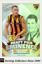 2013 Select AFL Prime Draft Pick Eminence Card DPE51 Jarryd Roughead (Hawthorn)