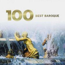 CLASICA - VARIOS -100 BEST BAROQUE MUSIC - 6CDS [CD]