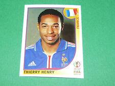 N°41 THIERRY HENRY FRANCE PANINI FOOTBALL JAPAN KOREA 2002 COUPE MONDE FIFA WC