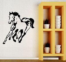 Wall Stickers Horse Racing Animal Nature Art Mural Room Vinyl Decal (ig216)