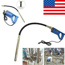 50/60HZ Electric Hand Held Concrete Vibrator Bubble Remove Cement Finishing Tool