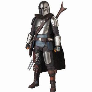 Star Wars Medicom MAFEX No.129 The Mandalorian (Beskar Armor) Authentic Figure