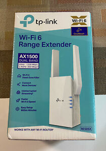 TP-Link RE505X AX1500 Wireless Dual Band Mesh WiFi-6 Range Extender, Booster