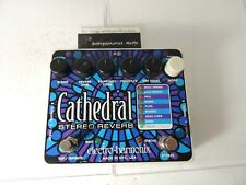 Electro Harmonix Cathedral Stereo Reverb Effects Pedal EHX Free USA Ship