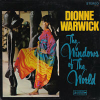 Dionne Warwick - The windows of the world / m. Original Unterschrift on Cover