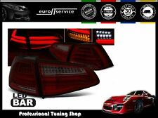 FEUX ARRIERE ENSEMBLE LDVWG5 VW GOLF 7 2013- RED SMOKE LED BAR