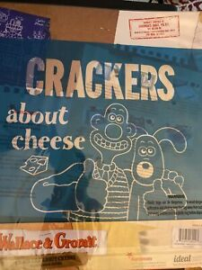 """2 x Wallace & Gromit """"Crackers About Cheese""""12"""" x 12"""" Mesh Screens"""