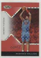 2004-05 Topps Finest Red X-Fractor /99 Rasheed Wallace #36