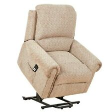 Tetbury Single Motor Electric Riser and Recliner Lift Chair 23st Limit EX Demo Mocha Fabric