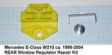 Mercedes E Class W210 Window Regulator Repair Clip (1) - REAR window