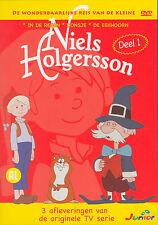 NIELS HOLGERSSON DEEL 1 - DVD - 3 AFLEVERINGEN - SEALED