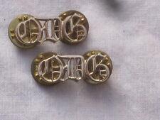 Queens Dragoons Guards, QDG, Schultertitel,Anodised Aluminium Staybright