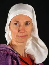 Médiéval / Larp / sca / re promulgation / Mesdames mousseline tête couvrant / écharpe ou coiffure