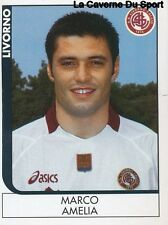 221 MARCO AMELIA ITALIA AS.LIVORNO STICKER CALCIATORI 2006 PANINI