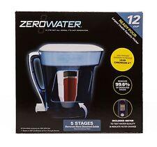 ZeroWater 12-Cup Ready POUR Brocca Blu