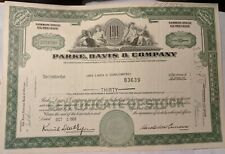 Western Union Corporation 300 Shares Stock Certificate 1970