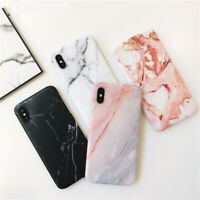 Fit For iPhone 6 6S 7 8 Plus XR XS MAX Phone Marble Pattern Soft TPU Case Cover