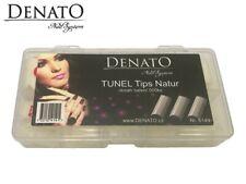 Tunel Tips Natur 500pcs UV LED Gel Nail Art High Quality Flexible Tips Denato UK