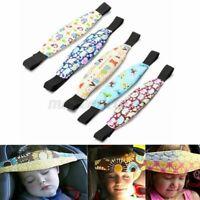 Baby Carseat Head Support Band Strap Stroller Headrest Sleep Relief Head Strap