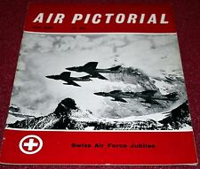 Air Pictorial 1964 July Swiss Air Force,Bristol Bombay,Jodel