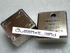 1×USED NDK NSA0089G 1 MHz 5V Adjustable OCXO Crystal Oscillator
