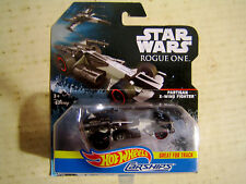 1 COLLECTABLE HOT WHEELS STAR WARS CARSHIPS PARTISAN X-WING FIGHTER