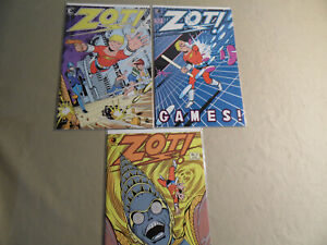 Zot #1-3 (Eclipse 1984) Free Domestic Shipping